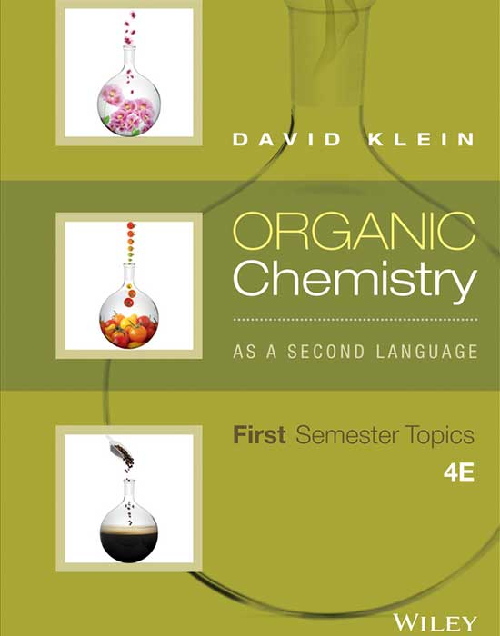 Organic Chemistry as a Second Language: First Semester Topics, 4th Edition