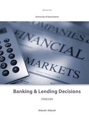 FINM3404 Banking & Lending Decisions CUSTOMISED BOOK