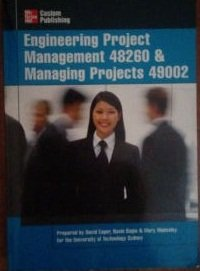 Project Management in Engineering and Information Technology 49002 & 48260