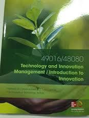 Cust Technology and Innovation