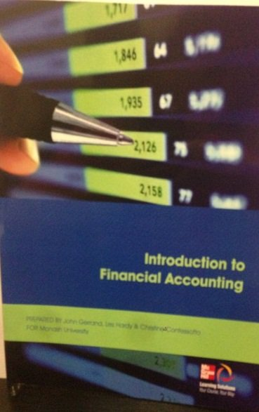 CUST Introduction to Financial Accounting