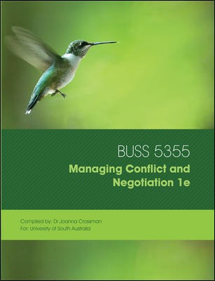 Cust Managing Negotiation and Conflict