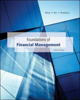 Mppk Foundations Of Financial Management W/ Time Value Money Bind-In Card