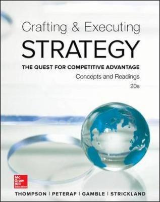 CRAFTING and EXECUTING STRATEGY: CONC and RDG