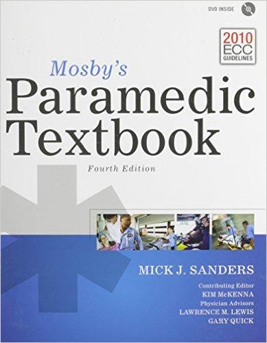 Mosby's Paramedic Textbook 4th Edition + Companion DVD