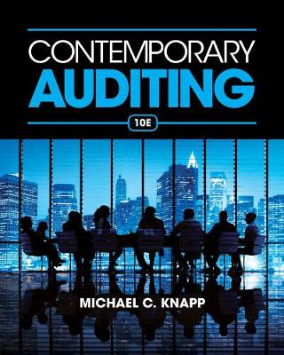 Contemporary Auditing 10E