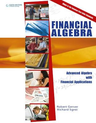 Financial Algebra, Update: Advanced Algebra with Financial Applications