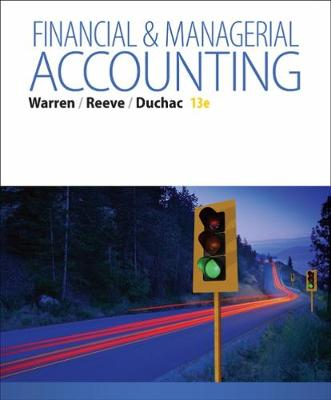Financial & Managerial Accounting: Student's Book