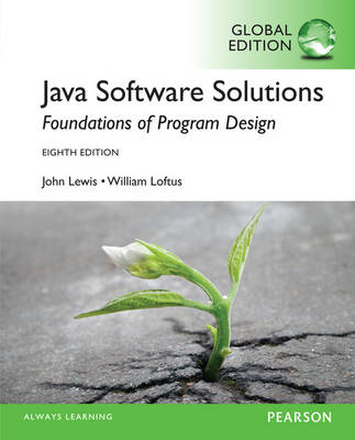 Java Software Solutions, Global Edition
