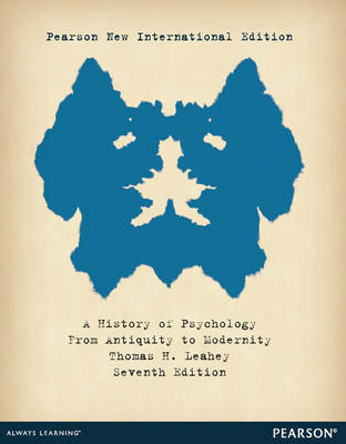 A History of Psychology: From Antiquity to Modernity