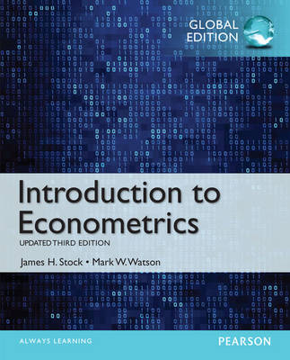 Introduction to Econometrics, Update, Global Edition