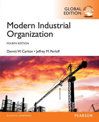 Modern Industrial Organization, Global Edition