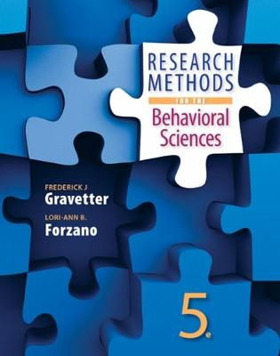 Research Methods for the Behavioral Sciences: A Research-Based Experiential Approach