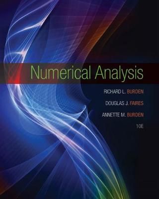 Numerical Analysis 10th Edition