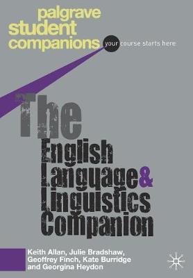 The English Language and Linguistics Companion