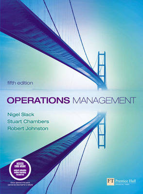 Operations Management: WITH Quantitative Analysis in Operations Management AND Companion Website with Gradetracker Student Access Card: Operations Management
