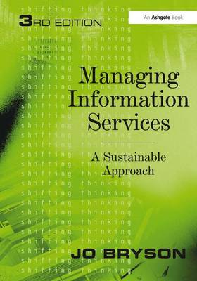 Managing Information Services: A Sustainable Approach