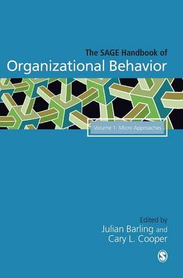 The Sage Handbook of Organizational Behavior: v. 1: Micro Approaches