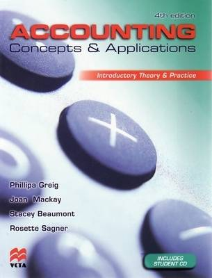 Accounting Concepts and Applications: Introductory Theory and Practice