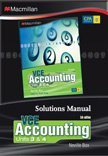 VCE Accounting Units 3 and 4 Solution Manual