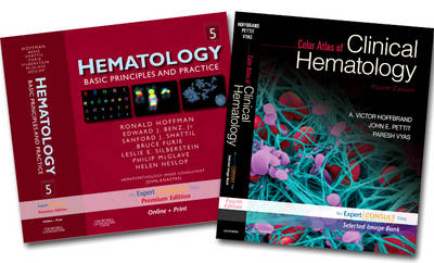 Hematology, 5th Edition and Color Atlas of Clinical Hermatology, 4th Edition