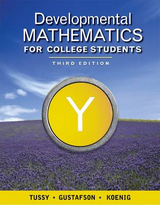Developmental Mathematics for College Students