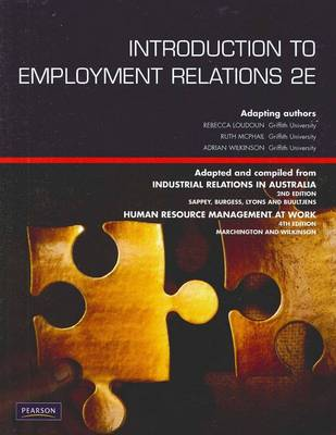 Introduction to Employment Relations (Pearson Original Edition)