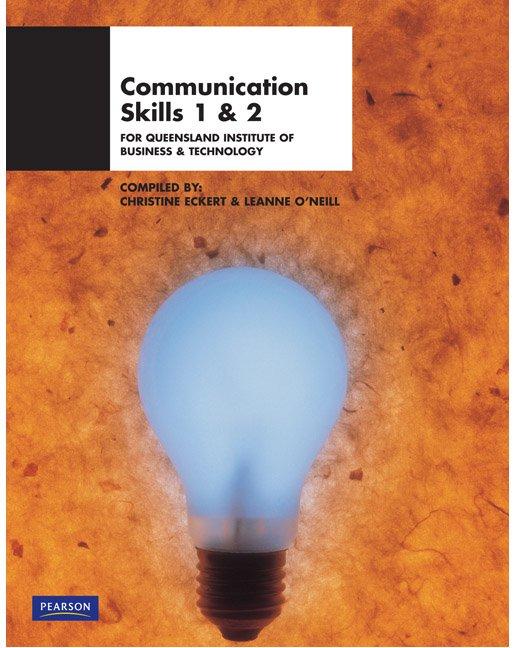 Communication Skills 1 & 2