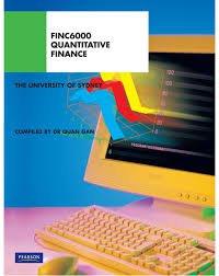 Quantitative Finance FINC6000 (Custom Edition)
