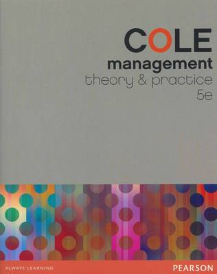 Management: Theory and Practice + Companion Website