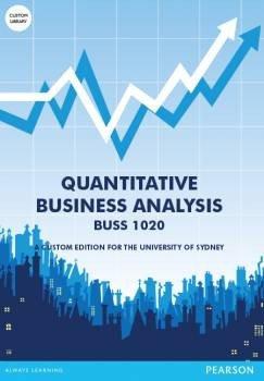 Quantitative Business Analysis Custom