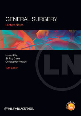 Lecture Notes; General Surgery