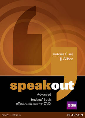 Speakout Advanced Students' Book eText Access Code with DVD