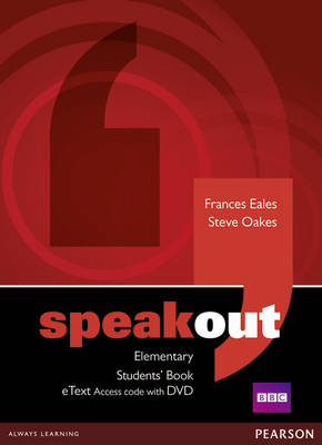 Speakout Elementary Students' Book eText Access Code with DVD
