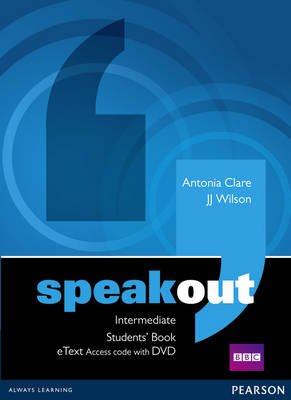 Speakout Intermediate Students' Book eText Access Code with DVD
