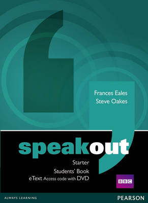 Speakout Starter Student's Book eText with DVD