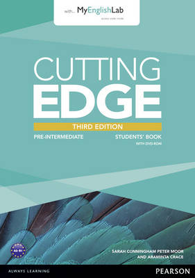 Cutting Edge Pre-Intermediate Students' Book and MyLab Pack