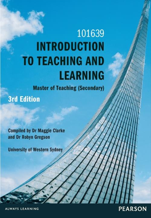 Introduction to Teaching & Learning Custom Book
