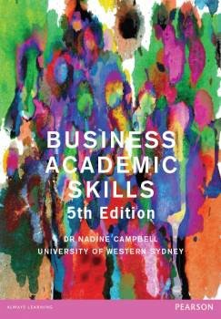 Business Academic Skills Custom Book