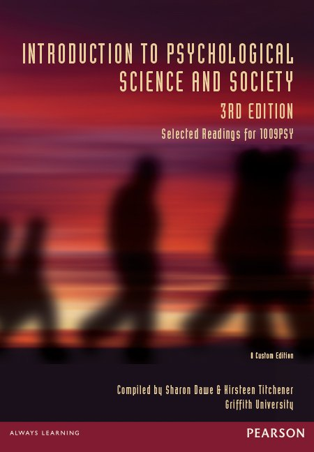 Introduction to Psychological Science and Society 3rd Ed.
