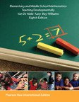 VP Elementary and Middle School Mathematics: Pearson New International Edition: Teaching Developmentally (8e) + MyMathLa