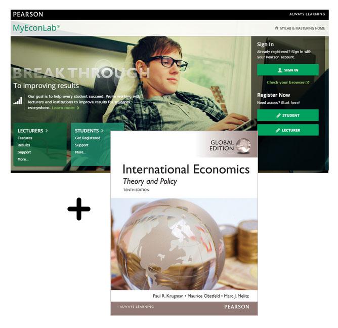 Value Pack International Economics (Global Edition) + MyEconLab