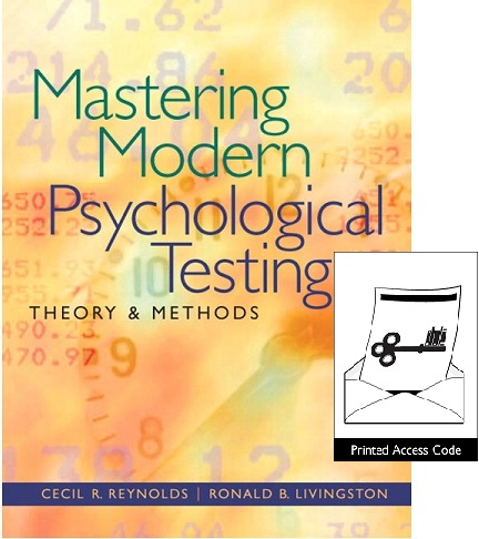 Value Pack Mastering Modern Psychological Testing: Theory & Methods + MySearchLab with eText