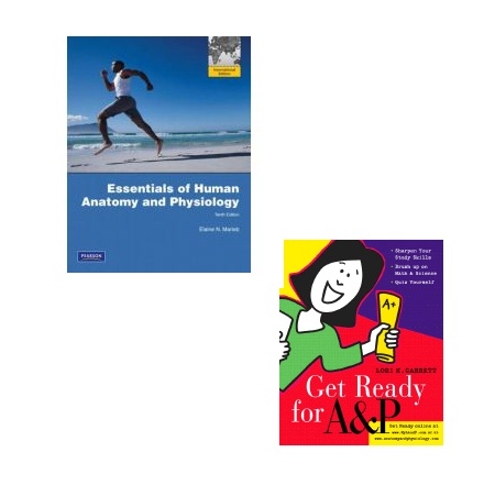 Essentials Human Anatomy & Physiology 10e+ Get ready For A&P 3e pack