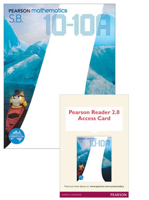 Pearson Mathematics 10-10A Reader 2.0/Student Book Bundle