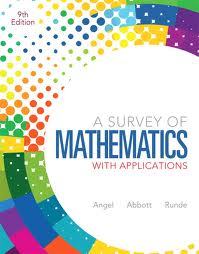 Survey of Mathematics with Applications 9E + MathXL 12 month Access