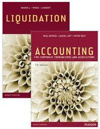 Value Pack Accounting for Corporate Combinations and Associations + Liquidation (Custom Book)
