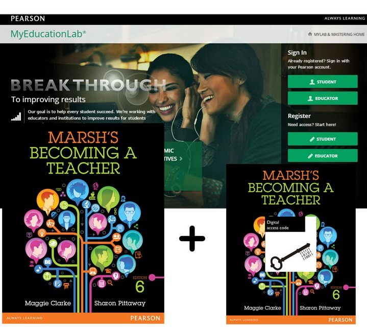 Value Pack Marsh's Becoming a Teacher + MyEducationLab with eText