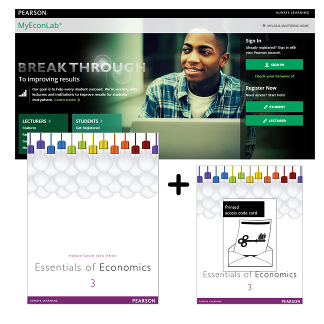 Value Pack Essentials of Economics + MyEconLab with eText