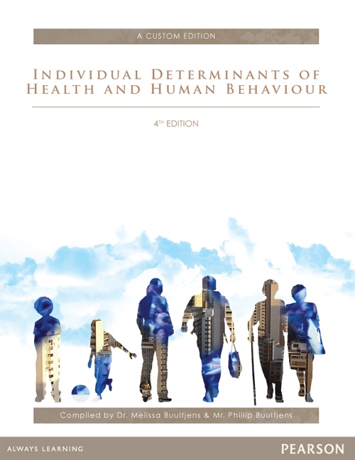 Individual Determinants Of Health and Human Behaviour (Custom Edition)
